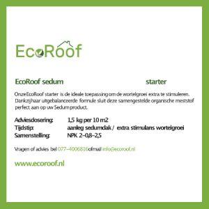 EcoRoof sedum starter 2 kg